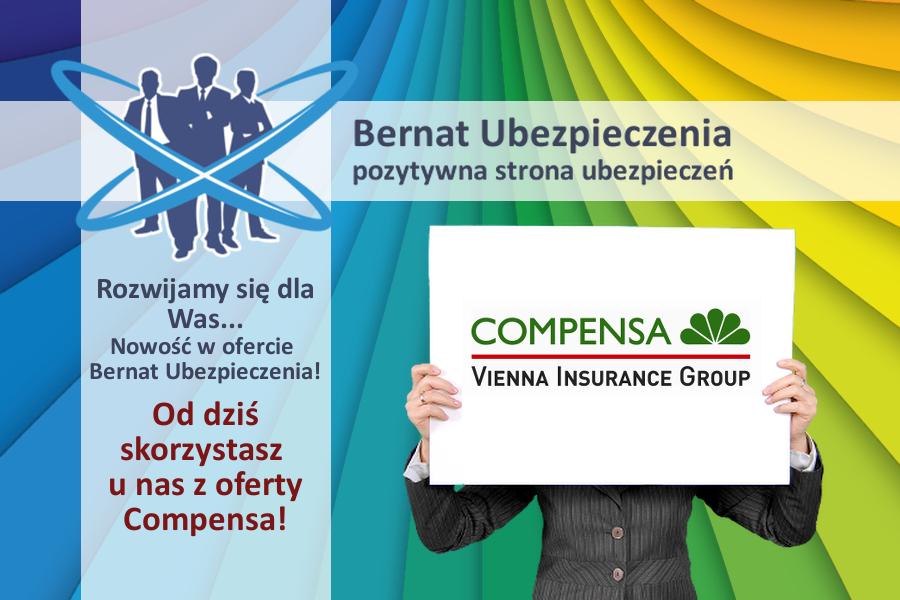 bernat ubezpieczenia inowrocław compensa
